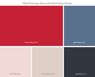 PPG PITTSBURGH PAINTS 2014 COLOR OF THE YEAR - PPG ...