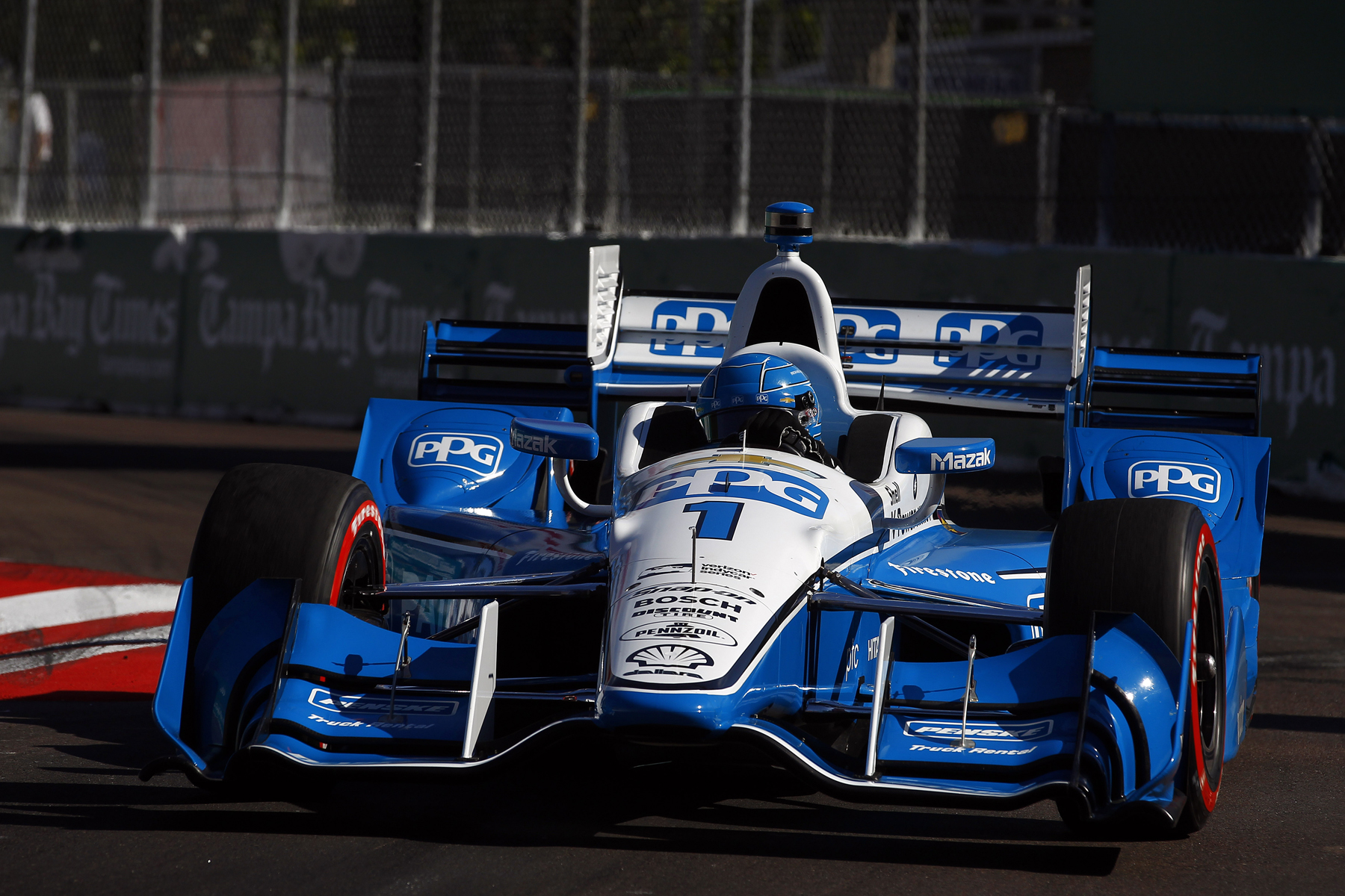 Ppg And Team Penske Hit The Track 2017 Ppg Paints Coatings