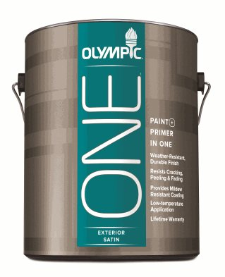 Olympic Brand By Ppg Introduces One Exterior Paint Ppg Paints Coatings And Materials