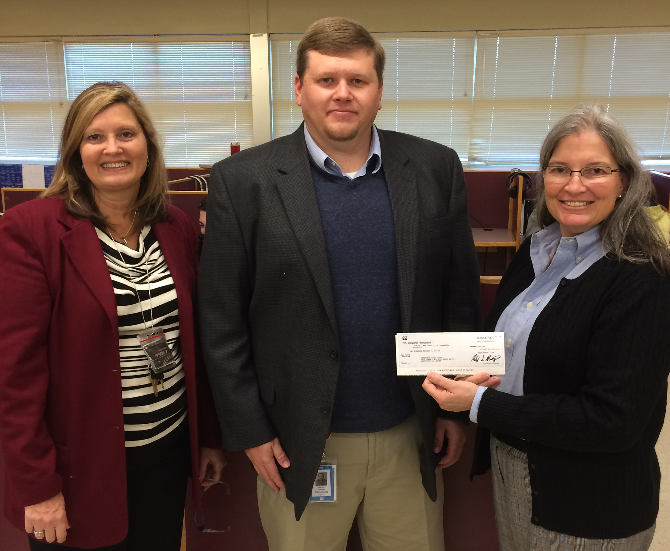 Ppg Innovative Classroom Grant Application ~ Ppg foundation supports woodstock high school mode