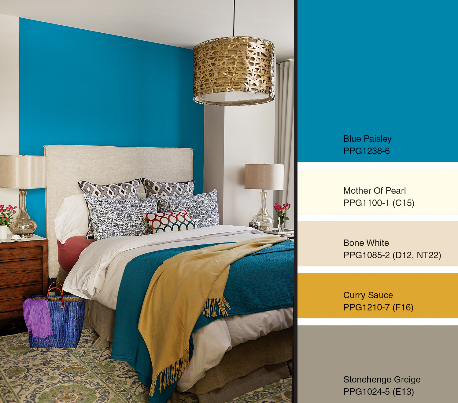 blue paisley named 2015 color of the yearppg p - ppg - paints