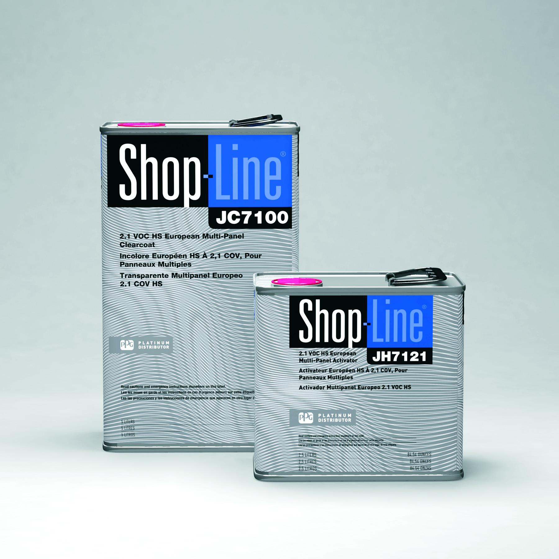 PPG introduces SHOP LINE 2 1 VOC Multi Panel Clear - PPG