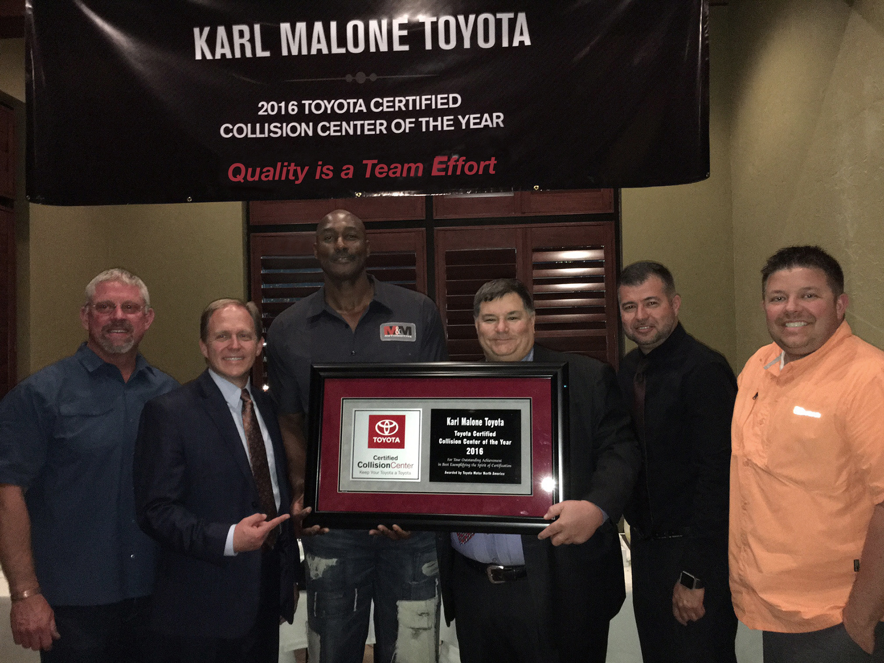 Karl Maloneu0027s Body And Paint And Puente Hills Auto Body Named Collision  Centers Of The Year