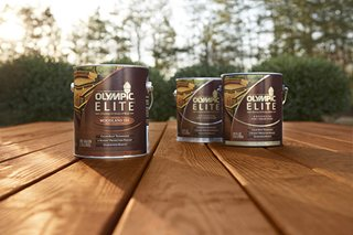 OLYMPIC Stain Launches Super Premium OLYMPIC ELITE - PPG - Paints ...