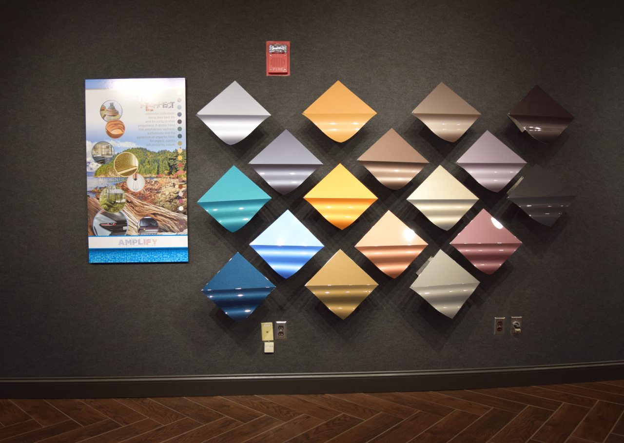 Automotive color trends ppg paints coatings and materials launch palette nvjuhfo Images